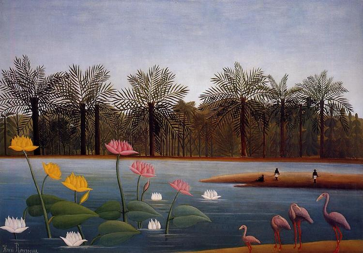The-Flamingos-Henri-Rousseau