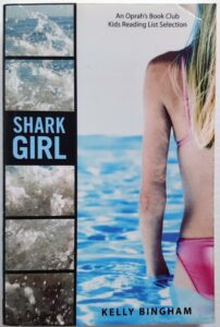 shark girl young adult poetry novel kelly bingham