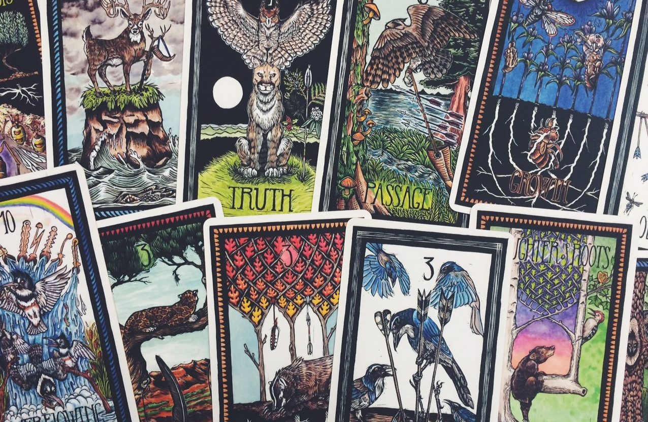 online writing course using tarot