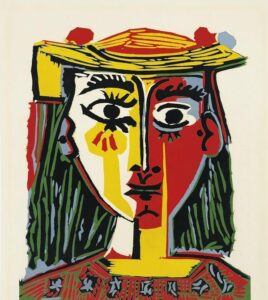 picasso woman portrait