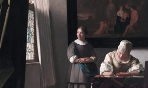 creative writing woman painting