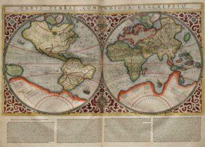 world map | novel planning workshop