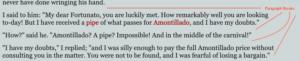 paragraph breaks in Poe