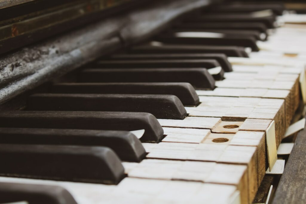 the piano appeared one day poem