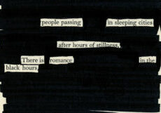 what is blackout poetry