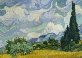 what is magical realism | van gogh cypress